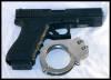 Gun & handcuffs