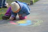 Child Sidewalk Chalk