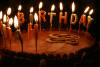 Birthday Cake & Candles