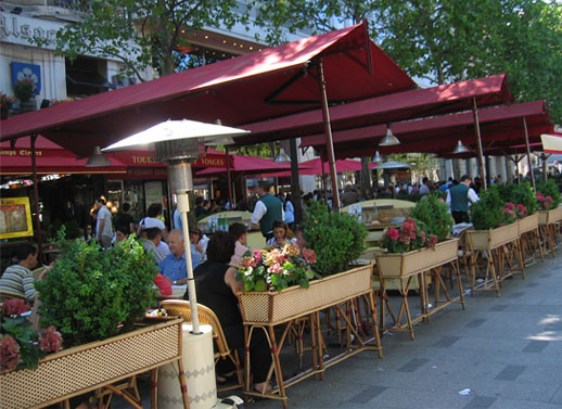 Paris Outdoor Cafe